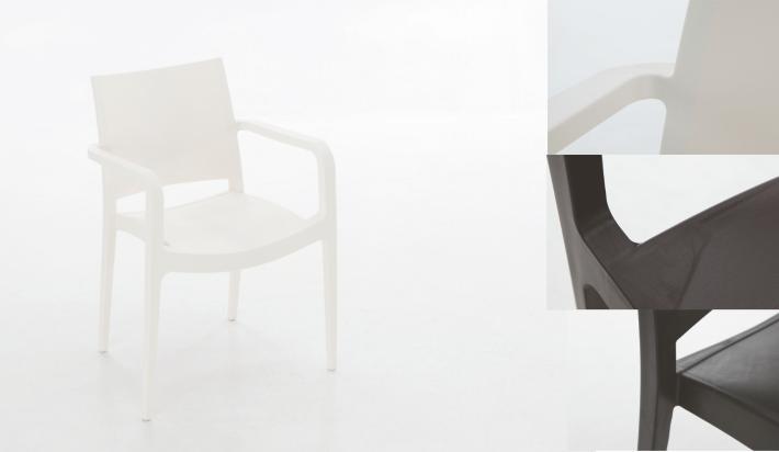 Silla exterior pl stico polipropileno 342 for Sofa plastico exterior