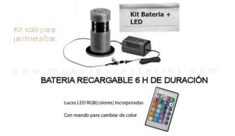 Kit de Luz CON bateria EXCLUSIVO de Jardinera/Bar