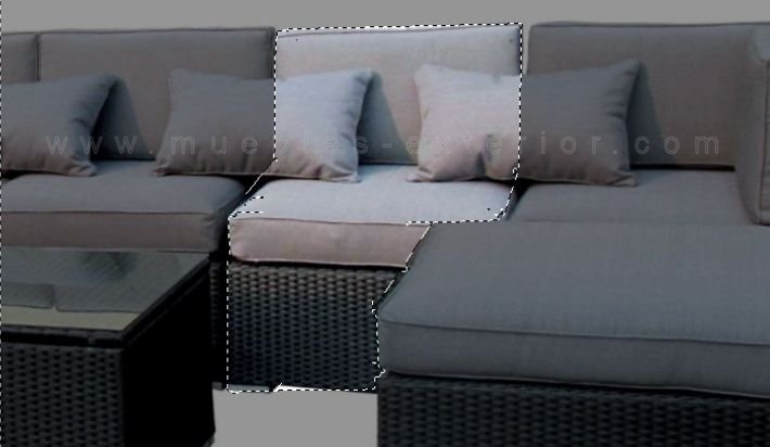 m dulo central sofa chill out exterior valencia. Black Bedroom Furniture Sets. Home Design Ideas