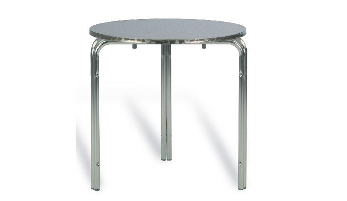 Mesa Terraza Aluminio 60cm