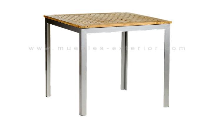 mesa terraza 80x80
