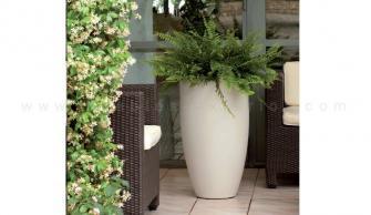 jardinera ovalada para exterior x