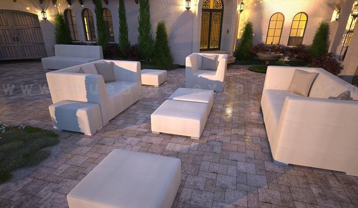 Set completo de terraza menorca for Set terraza