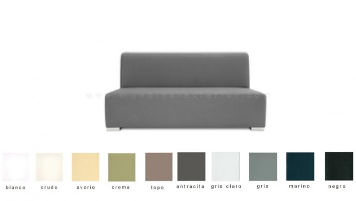 Mueble sill n chillout 2 plazas for Sofa exterior impermeable