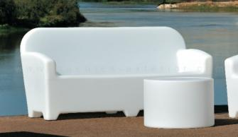 Muebles chill out for Sofas resina exterior