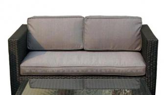 Muebles para terrazas for Sofa exterior hierro