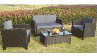 Sofas de exterior for Muebles palets jardin exterior