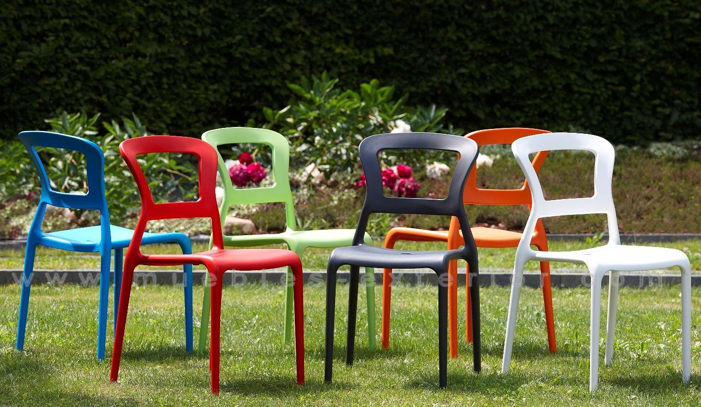 sillas de jardín polietileno baratas