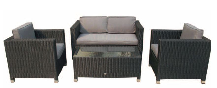 Sillones y sof s exterior kenia para hosteleria for Sofa exterior hierro