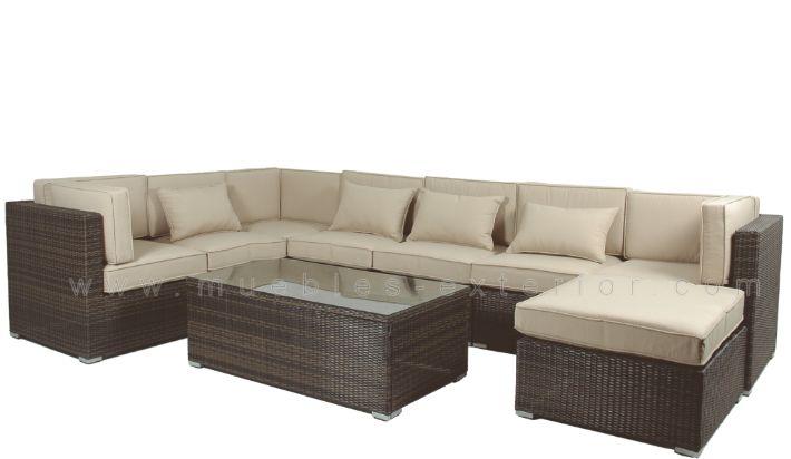 Sofa Modular Garbi De Jardin Y Exterior - Sofas-jardin