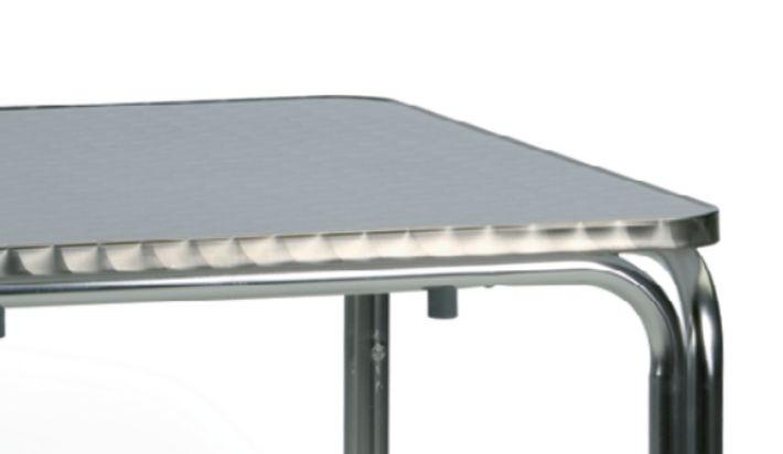 Mesa de aluminio terrazas 19 for Mesa exterior terraza