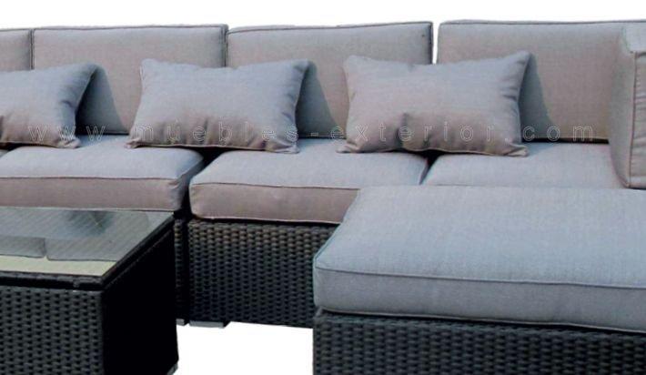 M dulo central sofa chill out exterior valencia - Muebles terraza valencia ...