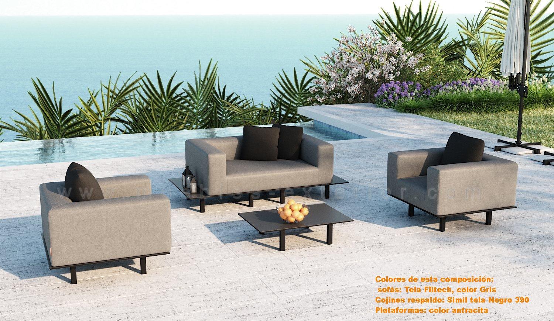 Muebles hosteleria mobiliario de hosteler a muebles - Sofas para exterior ...